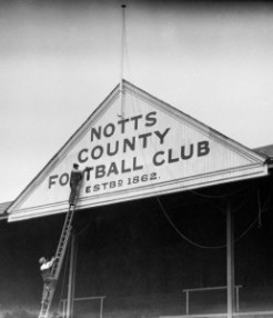Soccer - Notts County Feature - 1930 - Meadow Lane