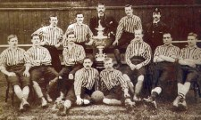 Courtesy of Burnley Football Club - team shot 1888-1890