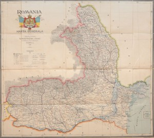 Harta Romaniei antebelice