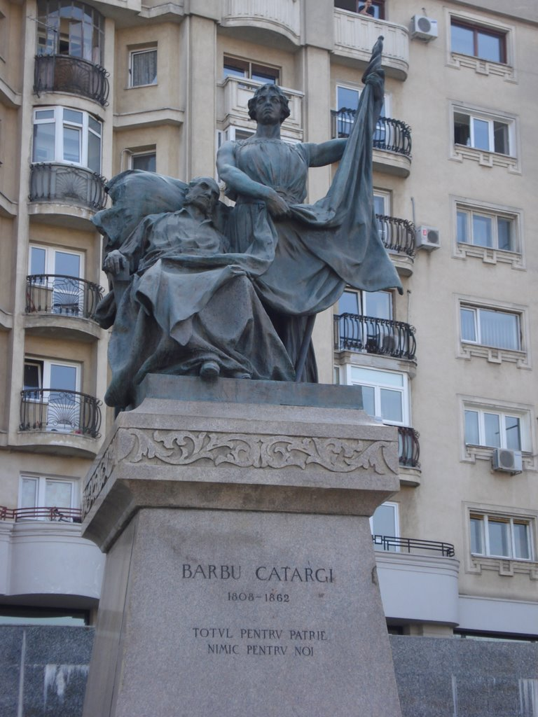 Statuie Barbu Catargiu