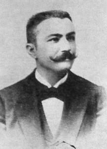 Emil Racoviţă înaintea plecării in expediția Antartica.
