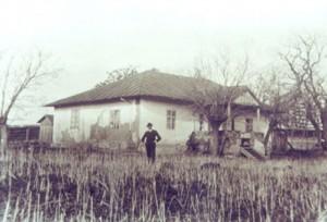 Casa lui Mihai Eminescu la 1909