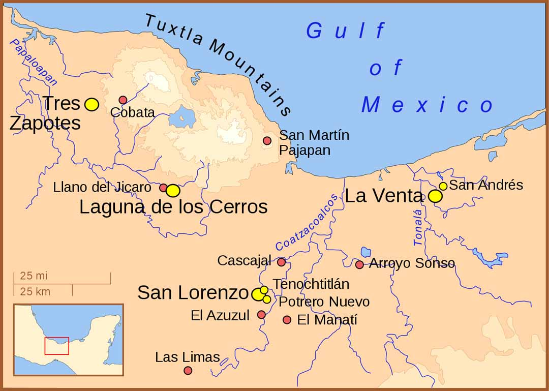 Situl arheologic olmec de la Laguna de los Cerros