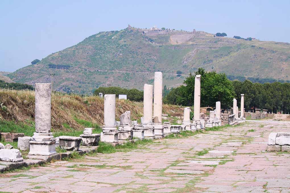 Biblioteca din Pergam