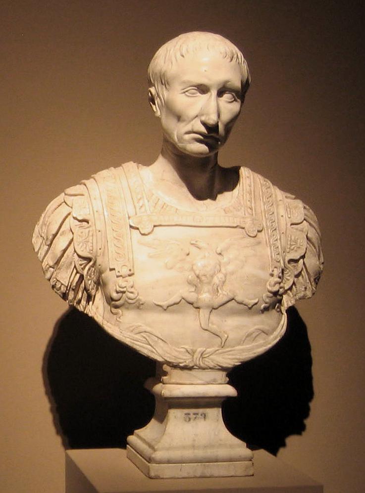 """Gaius Iulius Cezar: """"Alea iacta est"""""""