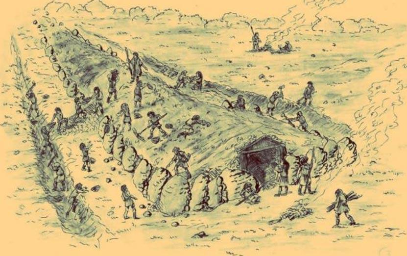 Necropolă cu morminte gigantice descoperită în Polonia