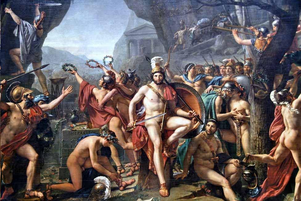 Leonidas la Termopile