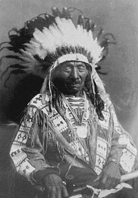 Șeful tribului Oglala Sioux, Red Cloud