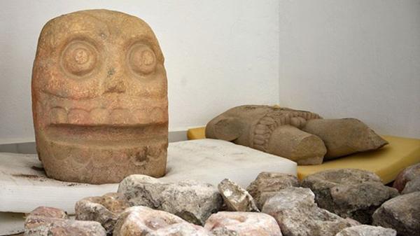 """У Мексиці знайшли храм бога """"з обдертою шкірою"""". ФОТО ..."""