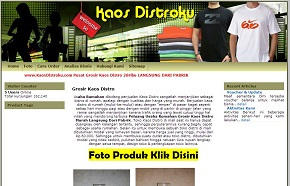 Supplier Kaos Distro
