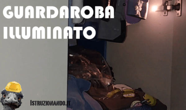 guardaroba luminoso