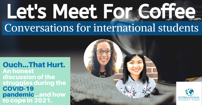 international student voice COVID struggles and resources