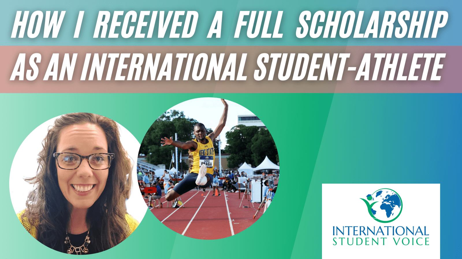 international student-athlete Samory Fraga