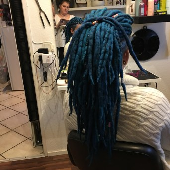 Super fede uld dreads