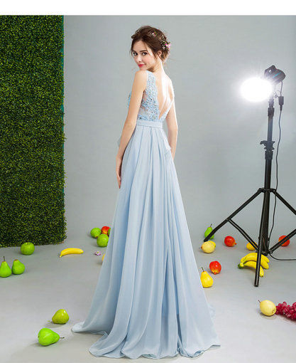 Affordable Prom Dress Blue Evening Gown online - Cheap Prom Dress ...