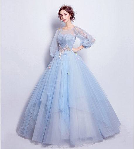 Quinceanera Dresses Blue sweet 15 Dresses - Cheap Prom Dress,Evening ...