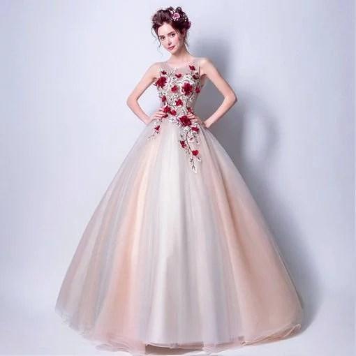 Quinceanera dress light pink bridal dress cheap prom dressevening quinceanera dresses pink 119 06 junglespirit Images