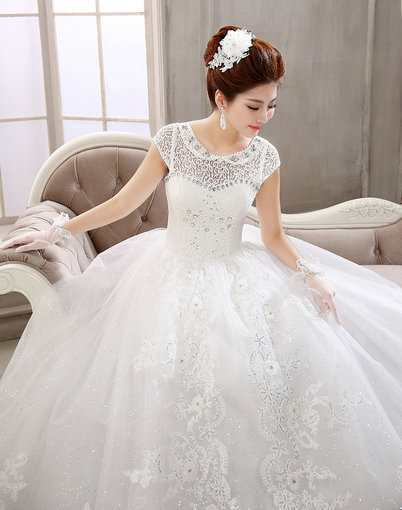 Lace Wedding Dress Affordable Bridal gowns under 100 - Cheap Prom ...