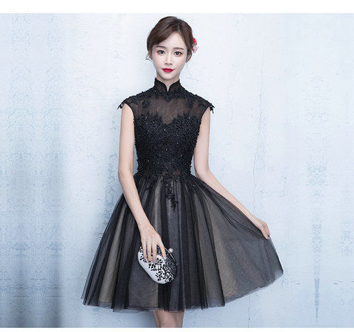 Black Cocktail Dress 0401 01