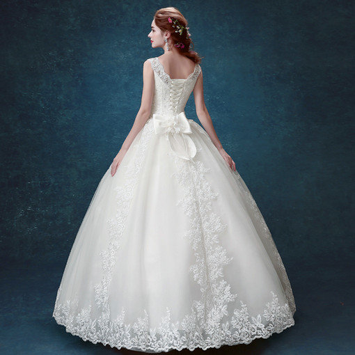 Ball Gown Wedding Dress Princess Lace Bridal Gown under 100