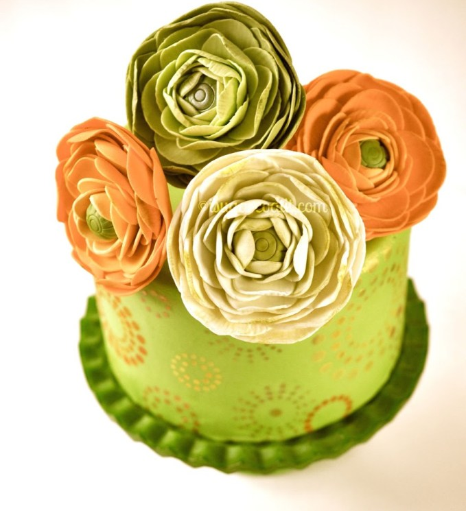 Sugar Ranunculus Tutorial