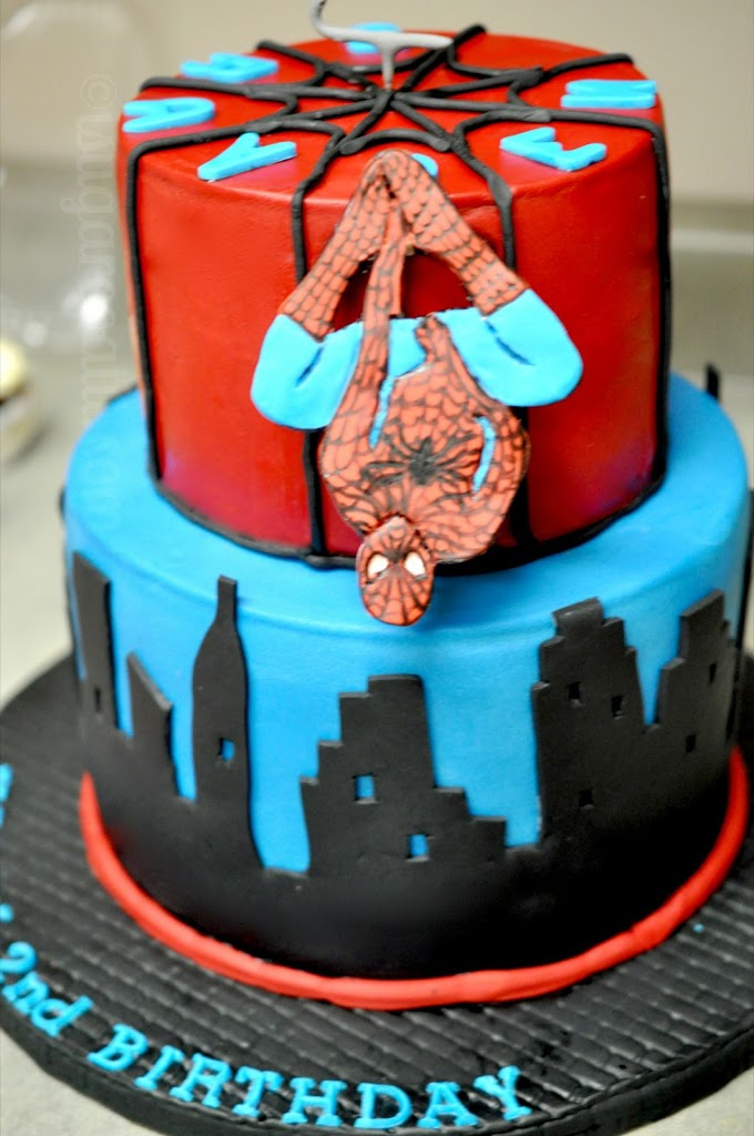 Thank You For The Awesome Spiderman Cake I Sugar Coat It