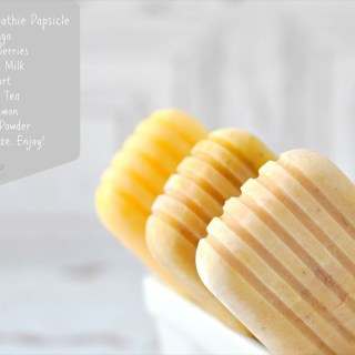 Breakfast Smoothie Popsicles {Summer Sweets}