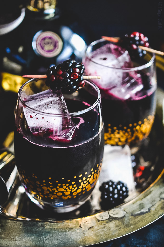 Blackberry Coulis Cocktail