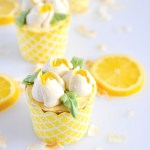 Lemon Ginger Cupcakes are a refreshing duo of citrus and fresh ginger baked into flavour-packed cupcakes and topped with silky lemon curd Italian meringue buttercream.