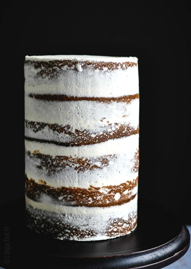 Passion Fruit Raspberry Naked Birthday Cake I Sugar Coat It