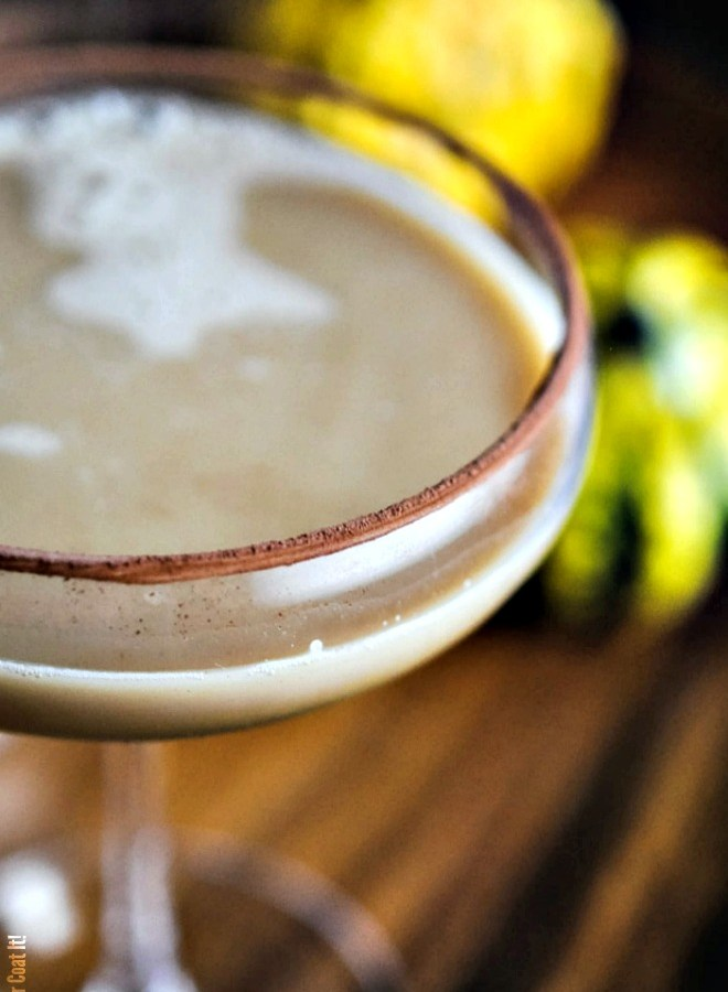 Pumpkin Chai Latte Cocktail | I Sugar Coat It