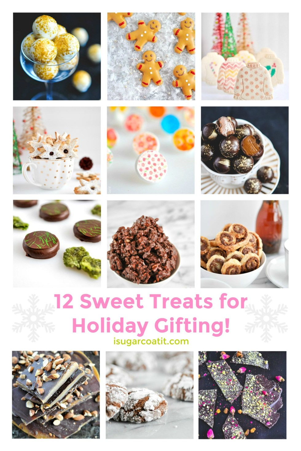 With Christmas on the horizon, round out your nice list with these 12 Sweet Treats For Holiday Gifting straight from your kitchen!