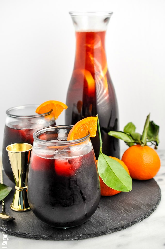 A longtime Christmas staple, thisSorrel (Hibiscus) Caribbean Christmas Punch is refreshingly tart and spicy, with a slight tang and sweetness that transports me back to childhood with my grandparents.