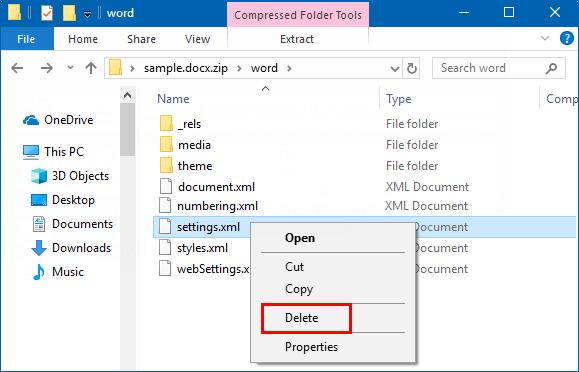 Edit settings.xml file