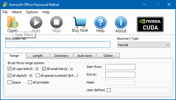 word excel password recovery