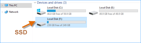 migrate windows 10 to ssd drive