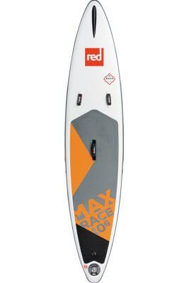 """red paddle 10'6"""" x 24"""" max race msl inflatable supboard"""