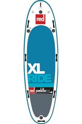 "red paddle 17'0"" xl ride msl inflatable supboard"