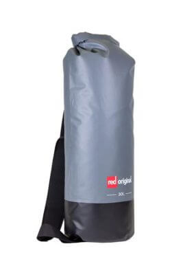 red paddle original dry bag 30 liter grijs