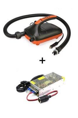 nalu elektrische pomp supboard 12 volt met homeplug