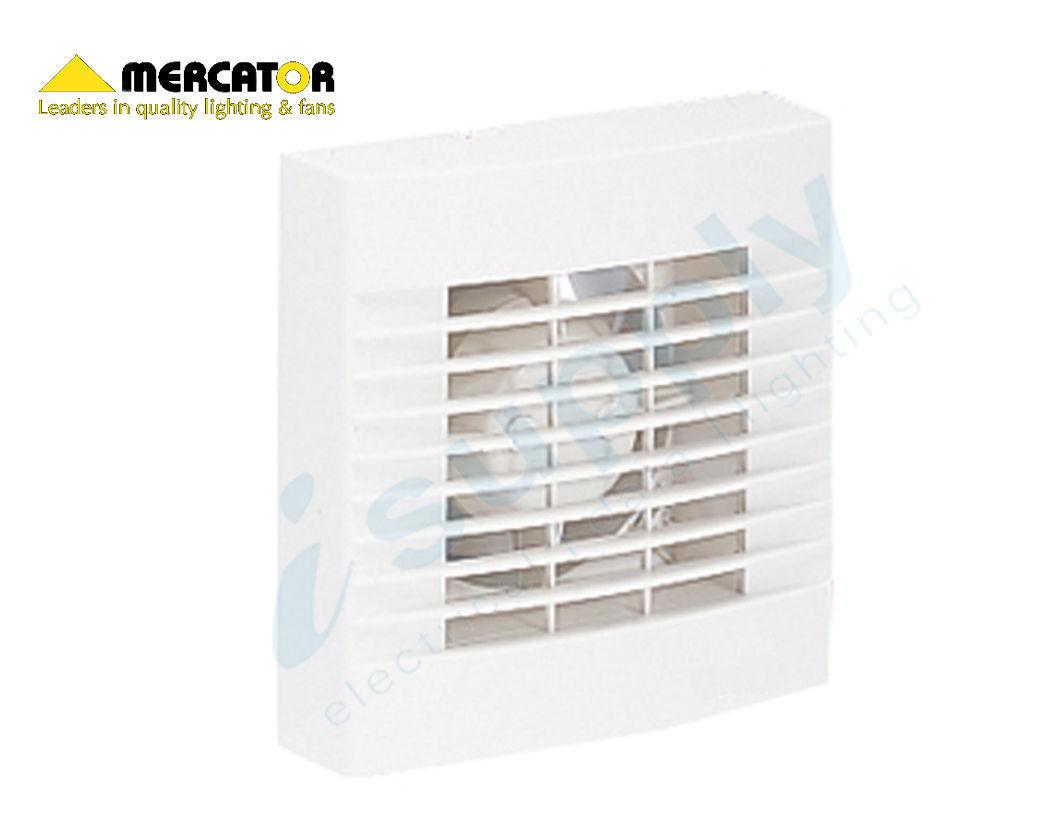 mercator window wall exhaust fan 100mm model bathroom exhaust fan bwe211wh