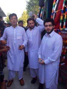 Imran Khan & Shahid Afridi