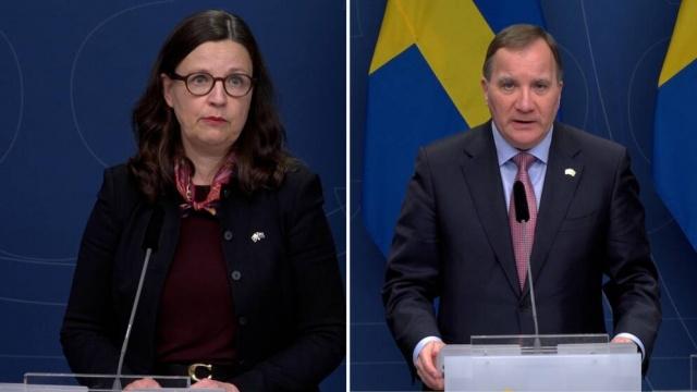 Eğitim Bakanı Anna Ekström, Bu kadar hızlı bir başka değişikliğin zor olduğunu anladığını belirtti. Ama gerekli olduğu için yapıldı dedi. Eğitim Bakanı, enfeksiyonun çok yüksek seviyede olduğunu söyledi. Uzaktan veya uzaktan eğitimin yayılmayı azaltması gerektiğini, böylece bahar döneminde yeniden yerinde eğitimin gerçekleşebileceğini ifade etti. Alınan kararların sadece devlet liseleri için geçerli olduğu belirtildi.