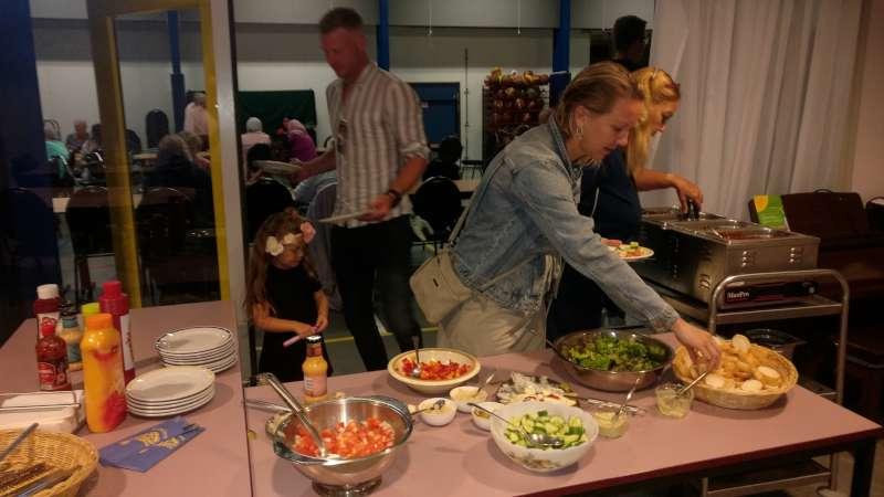 ISV Kameleon BBQ avond vrijwilligers