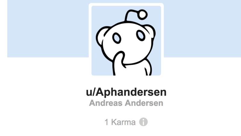 Nu kan du poste til din egen profil på Reddit