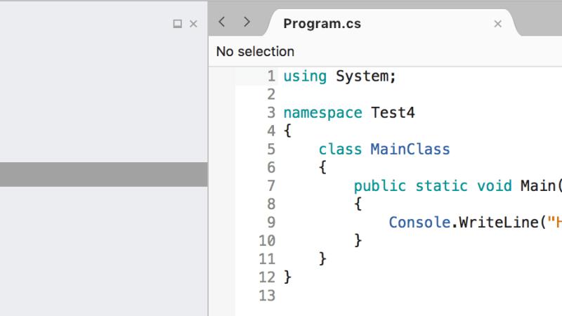C# tutorial – Introduktion