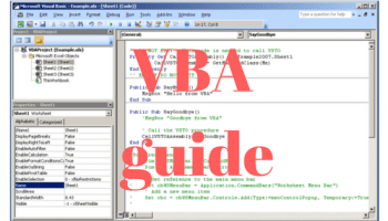 Lad en knap på tastatur i VBA udløse en handling - IT-blogger