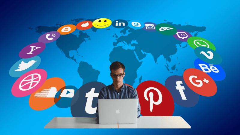 10 mest populære sociale medier i 2019