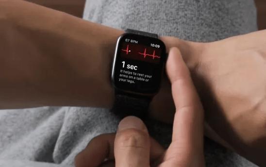 Se EKG på dit Apple ur