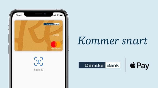 Apple Pay kommer til Danske Bank